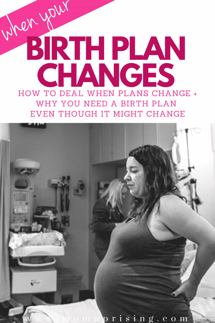Deciding if you need a birth plan? People say you shouldn\'t bother because your plans will change, but that is the reason you NEED a birth plan! This is my birth story of my first birth when the birth plan changed, and why I was still so happy I had created one. Learn to empower yourself with your birth plan, mama. #pregnancy #birth #birthplan #birthstory #hospitalbirth #epidural #newmom #firsttimemom