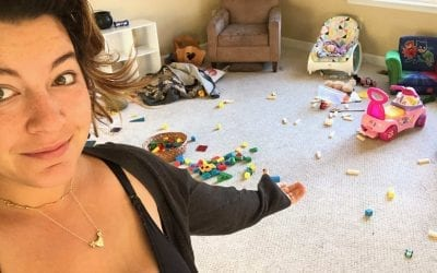 Screw Instagram. The Messy Reality of Being a Mom
